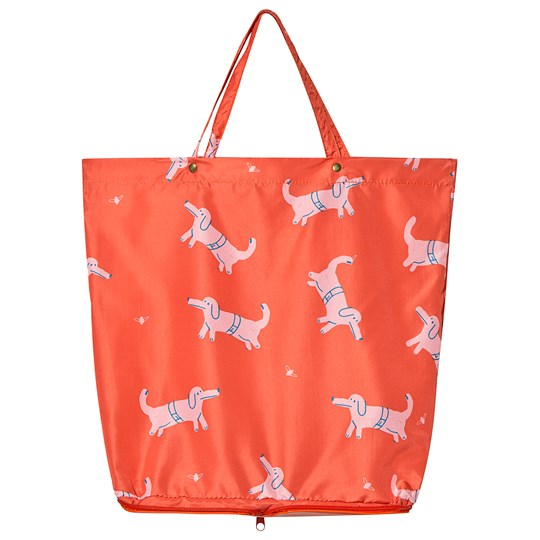 Bobo Choses Dogs Shopping Bag Red Clay Red Clay