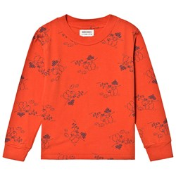 Bobo Choses Tangerine T-Shirt Red Clay