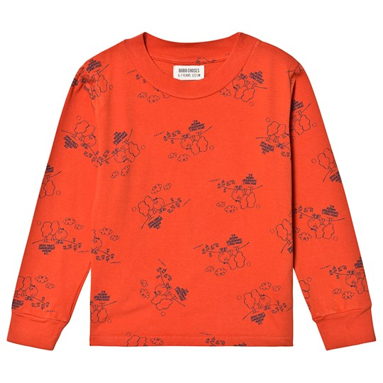 Bobo Choses Tangerine T-Shirt Red Clay Red Clay