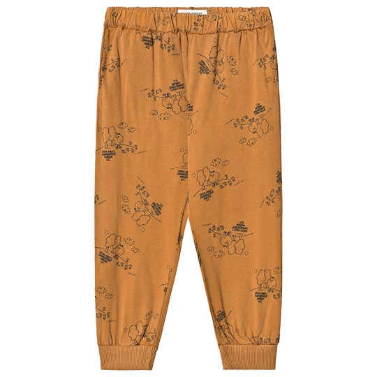 Bobo Choses Tangerine Pants Brown Sudan Brown