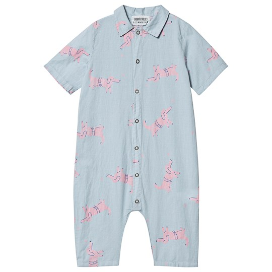Bobo Choses Dogs Jumpsuit Ashley Blue Ashley Blue