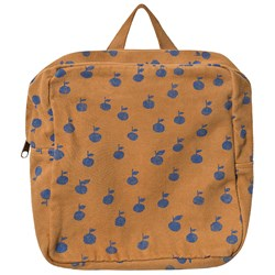 Bobo Choses Apples Petit School Bag Brown