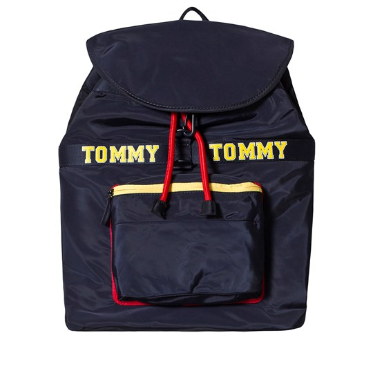Tommy Hilfiger Navy Logo Backpack 413