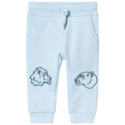 Kenzo Light Blue Tiger and Friends Sweatpants