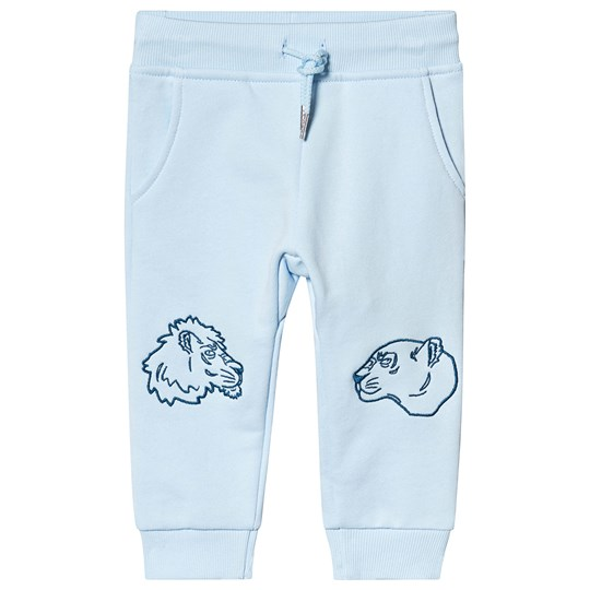 Kenzo Light Blue Tiger and Friends Sweatpants 42