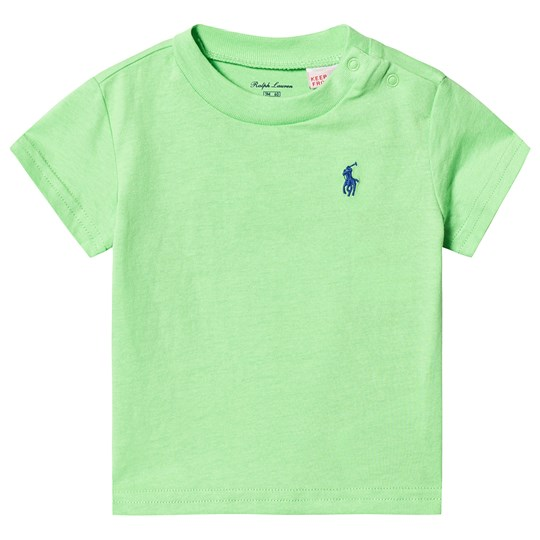 Ralph Lauren Lime Green Tee with Small PP 016