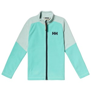 Image of Helly Hansen Mint Green Colorblock Daybreaker Junior Mid Layer 10 years (3125244939)