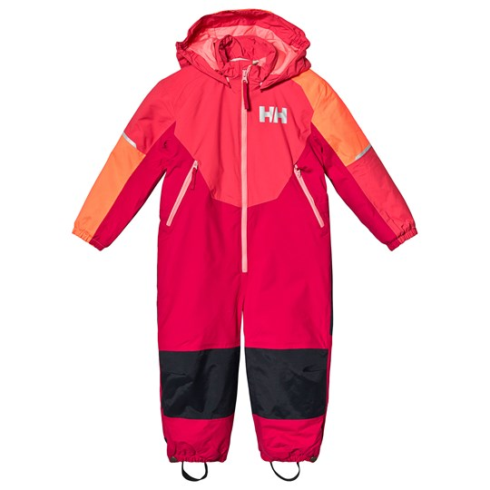 Helly Hansen Pink Colorblock Rider Insulated Kids Ski Suit 197