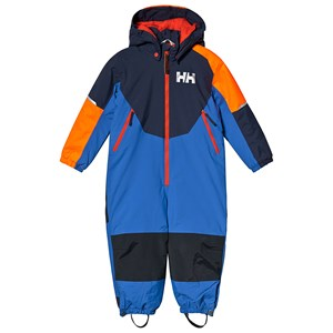 Image of Helly Hansen Blue Colorblock Rider Insulated Kids Ski Suit 2 years (3125330151)