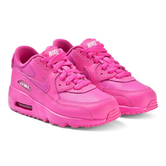 NIKE Pink Nike Air Max 90 Leather Sneakers 603