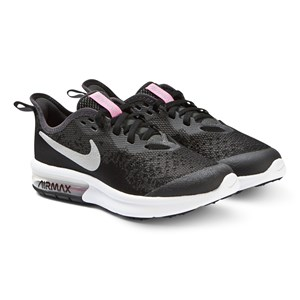 Image of NIKE Black Nike Air Max Sequent 4 Sneakers 38 (UK 5) (3125293155)