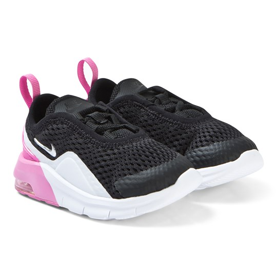 NIKE Pink and Black Nike Air Max Motion 2 Infants Sneakers