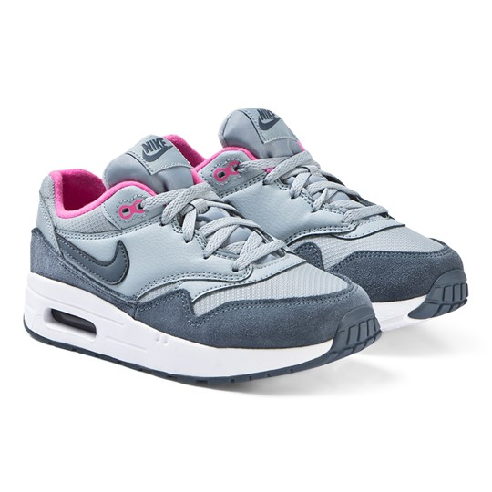NIKE Blue and Pink Nike Air Max Sneakers 400