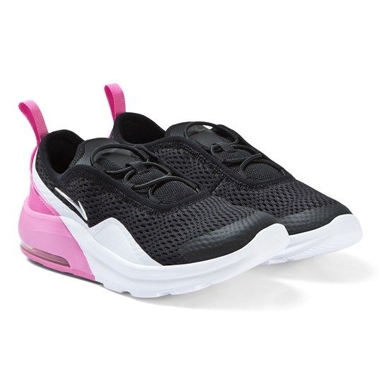 NIKE Pink and Black Nike Air Max Motion 2 Sneakers