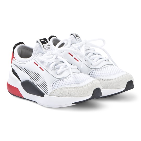 Puma RS-0 Trainers White/Red White/Red