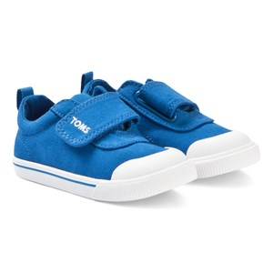 Image of Toms Blue Canvas Tiny TOMS Doheny Sneakers 21 (UK 4) (3125251303)