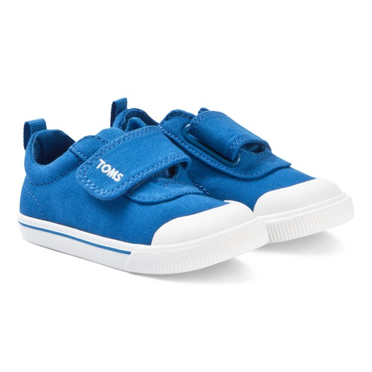 4d925cf9c Toms - Blue Canvas Tiny TOMS Doheny Sneakers - Babyshop.com