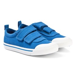 Toms Blue Canvas Youth Doheny Sneakers
