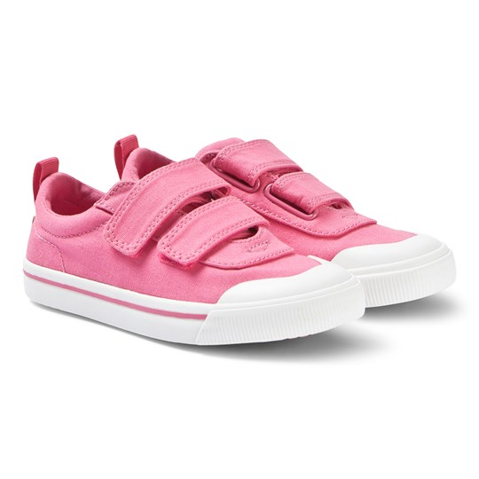Toms Bubblegum Pink Canvas Youth Doheny Sneakers Pink
