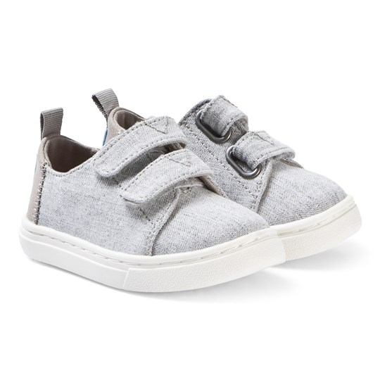 7f2069ee26d86 Toms - Drizzle Grey Slub Chambray Tiny TOMS Lenny Sneakers ...