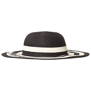 Image of Catimini Black and White Stripe Hellow Sun Hat 49 (2-3 years) (3125347679)