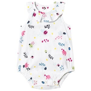 Image of Catimini Floral Woven Baby Body White 1 month (1289256)