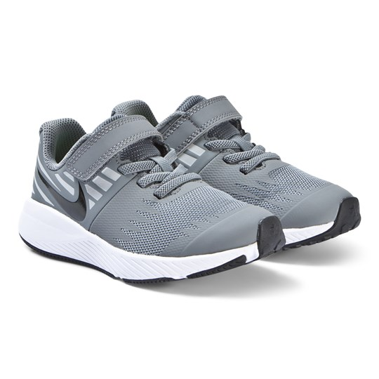 the latest 52a71 fc250 NIKE - Cool Grey Star Runner Kids Sneakers - Babyshop.com