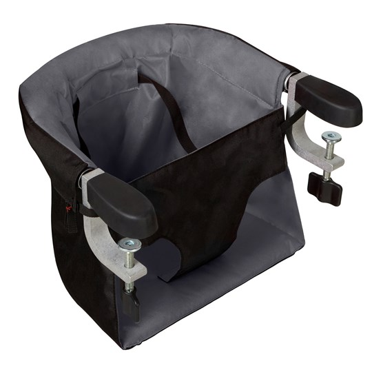 Mountain Buggy Neat and Petite, Ready to Eat Clip-on High Chair Flint Flint