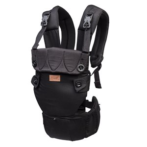 Image of Najell Baby Carrier Original Matte Black One Size (1308988)