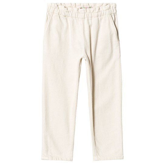 Bonpoint Cream Twill Pants 003A