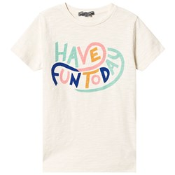 Bonpoint Cream Have Fun Today Tee
