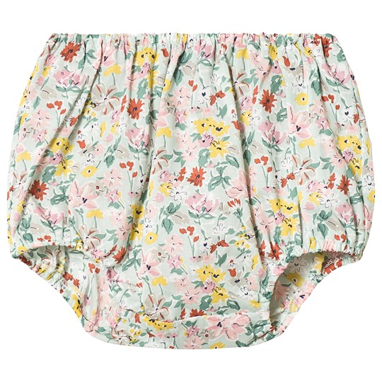 Bonpoint Green Floral Liberty Print Bloomers 540