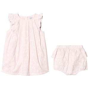 Image of Absorba Pink Floral Embroidered Dress 12 months (3125308431)
