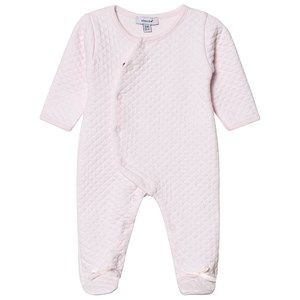 Image of Absorba Pale Pink Quilted Footed Baby Body 1 month (3125347749)
