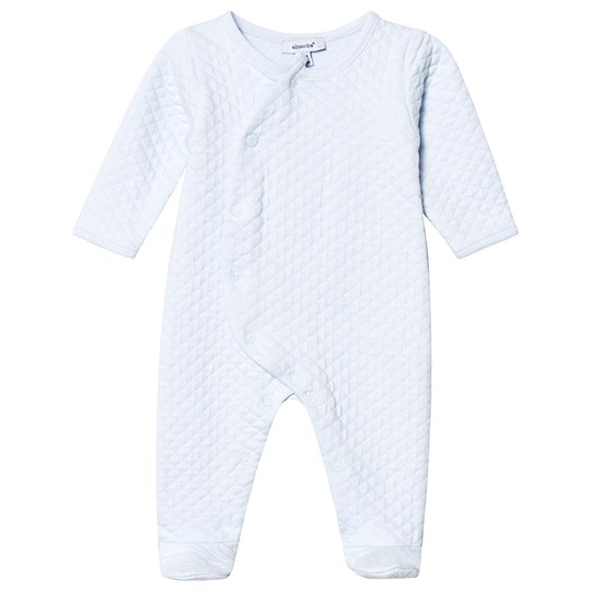 Absorba Pale Blue Quilted Footed Baby Body 41