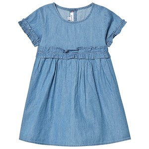 Image of Absorba Blue Ruffle Dress 12 months (3125309377)