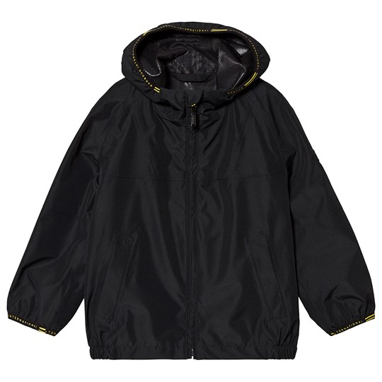 Barbour Black Grange Parka Jacket Black