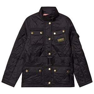 Image of Barbour Black Flyweight Quilted Jacket L (10-11 years) (3125291893)