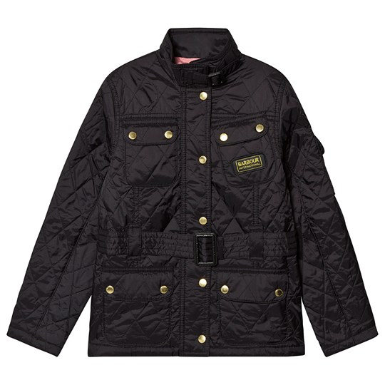 Barbour Black Flyweight Quilted Jacket Black