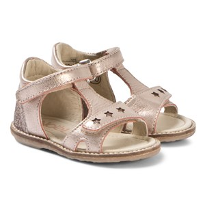 Image of Noël Mini Sorel Leather Sandals Rose 20 (UK 4) (3125272377)