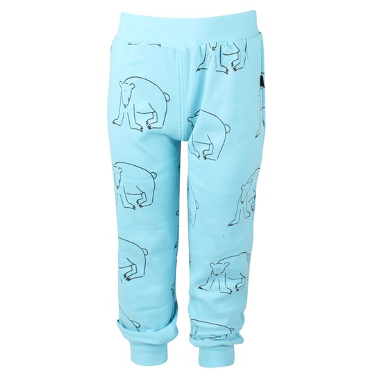 Ida T Baggy Pants Polar Bear Blue