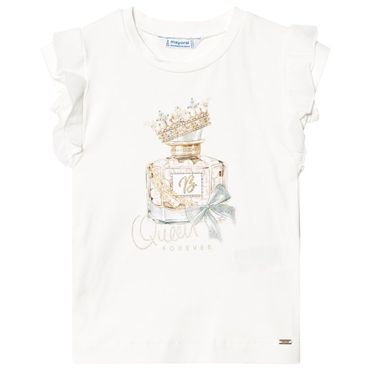 Mayoral White Perfume T-Shirt 61