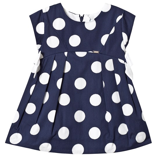 Mayoral Navy Polka Dot Dress 59