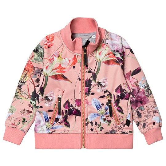 Molo Hestie Soft Shell Jacket Flowers Of The World Flowers Of The World