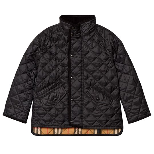 Burberry Black Diamond Quilted Jacket A1189