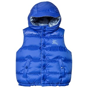 Image of Burberry Bright Spectrum Blue Reversible Gilet 8 years (3125267797)