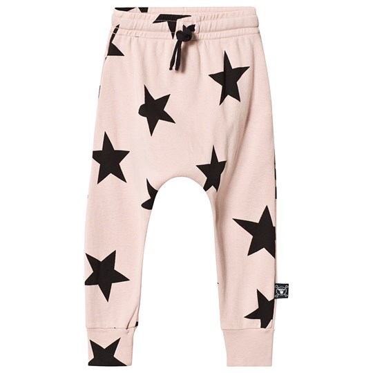 NUNUNU Star Baggy Pants Powder Pink Powder Pink