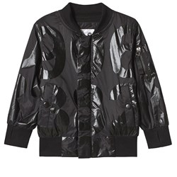 NUNUNU Nylon Numbered Jacket Black