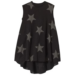 NUNUNU Star 360 Dress Black