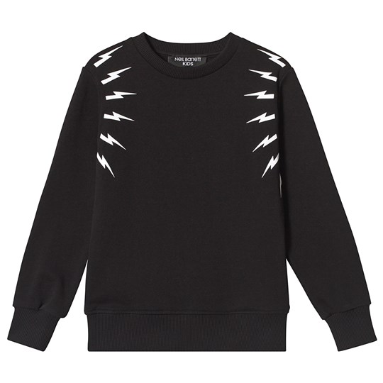 Neil Barrett Black Thunder Bolt Sweatshirt 110